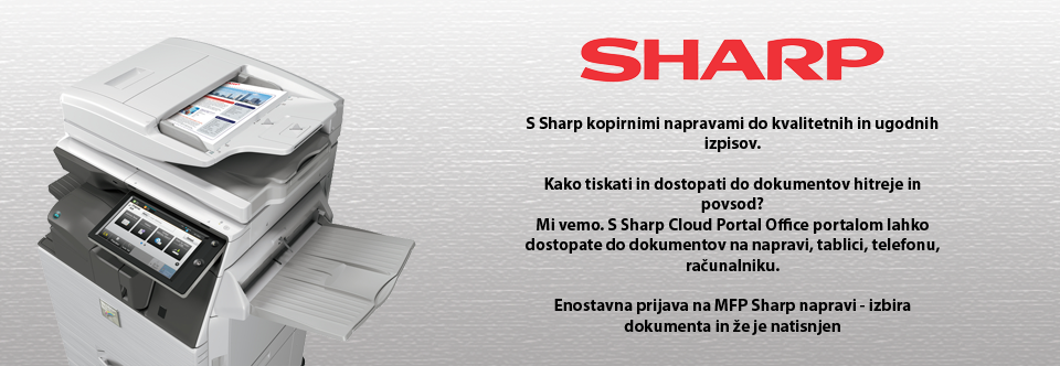 Sharp Cloud Portal